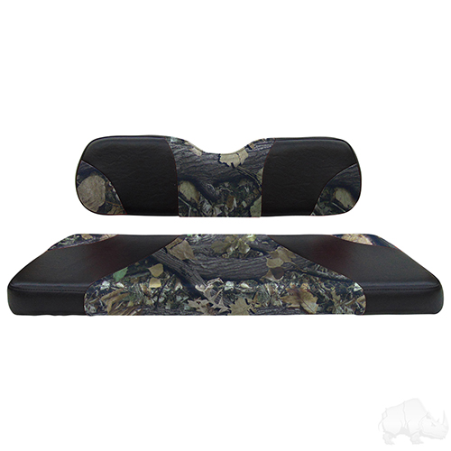 RHOX Rhino Seat Kit, Sport Black/Camo, Club Car DS