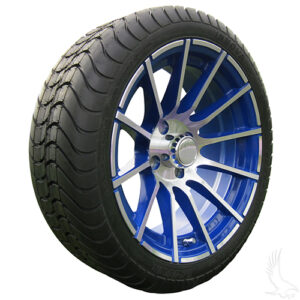 AC600 Assembly - Blue w/ Center Cap 15x6 ET-25 & 205/35R15 Innova Driver 4 ply