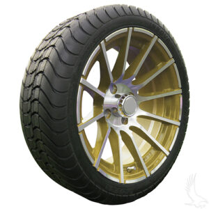 AC600 Assembly - Gold w/ Center Cap 15x6 ET-25 & 205/35R15 Innova Driver 4 ply