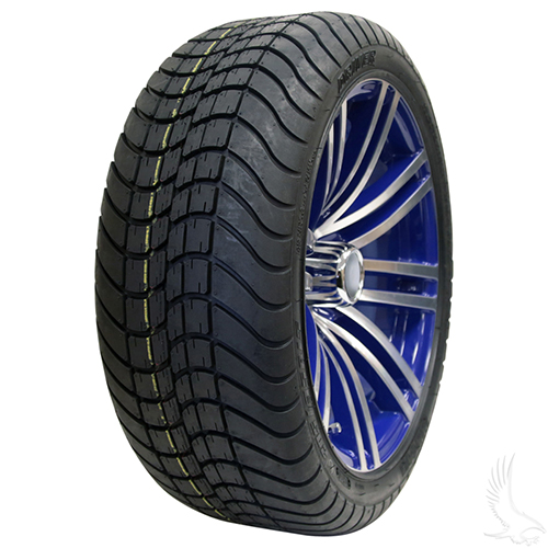 AC601 Assembly - Blue w/ Center Cap 15x6 ET-25 & 205/35R15 Innova Driver 4 ply