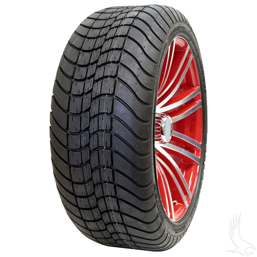AC601 Assembly - Red w/ Center Cap 15x6 ET-25 & 205/35R15 Innova Driver 4 ply