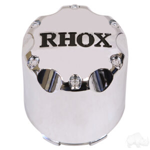 Center Cap, Chrome with Black RHOX