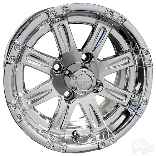 RHOX Vegas, Chrome w/ Center Cap, 12x6 Centered