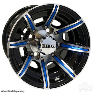 RHOX Color Wheel Insert, Blue, Bag of 8 for RX150 Series Wheels