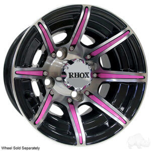 RHOX Color Wheel Insert, Pink, Bag of 8 for RX150 Series Wheels