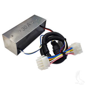 Voltage Reducer, 36V-48V to 30A, Club Car Precedent 08.5+