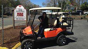 South Shore Golf Cars Showroom
